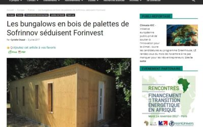 Greenunivers parle d'Oozwood